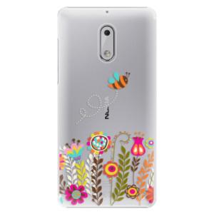 Plastové pouzdro iSaprio Bee 01 na mobil Nokia 6