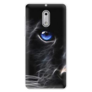 Plastové pouzdro iSaprio black Puma na mobil Nokia 6