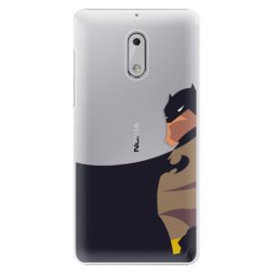 Plastové pouzdro iSaprio BaT Comics na mobil Nokia 6