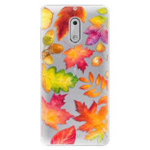 Plastové pouzdro iSaprio Autumn Leaves 01 na mobil Nokia 6