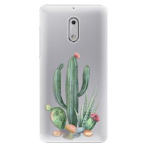 Plastové pouzdro iSaprio Kaktusy 02 na mobil Nokia 6