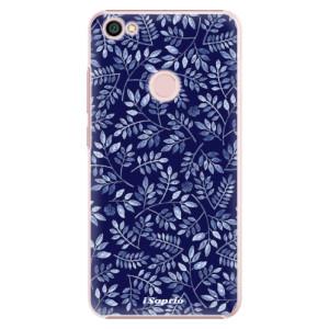 Plastové pouzdro iSaprio Blue Leaves 05 na mobil Xiaomi Redmi Note 5A / 5A Prime