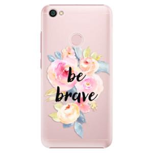 Plastové pouzdro iSaprio Be Brave na mobil Xiaomi Redmi Note 5A / 5A Prime