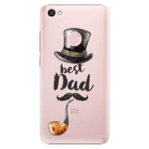 Plastové pouzdro iSaprio Best Dad na mobil Xiaomi Redmi Note 5A / 5A Prime