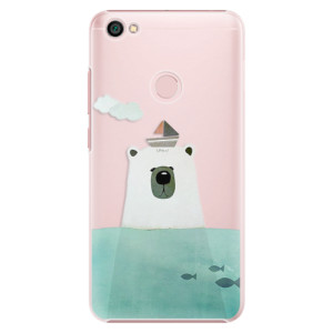 Plastové pouzdro iSaprio Bear With Boat na mobil Xiaomi Redmi Note 5A / 5A Prime