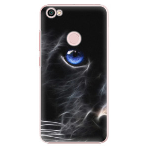 Plastové pouzdro iSaprio black Puma na mobil Xiaomi Redmi Note 5A / 5A Prime