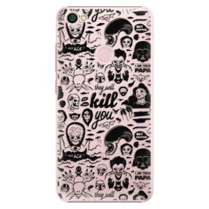Plastové pouzdro iSaprio Komiks 01 black na mobil Xiaomi Redmi Note 5A / 5A Prime