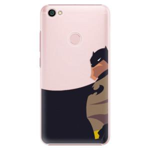 Plastové pouzdro iSaprio BaT Comics na mobil Xiaomi Redmi Note 5A / 5A Prime