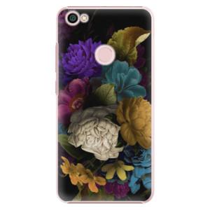 Plastové pouzdro iSaprio Temné Květy na mobil Xiaomi Redmi Note 5A / 5A Prime