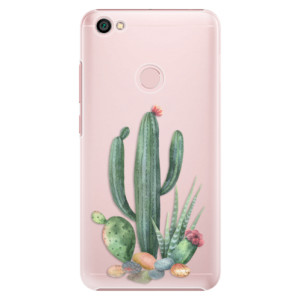 Plastové pouzdro iSaprio Kaktusy 02 na mobil Xiaomi Redmi Note 5A / 5A Prime