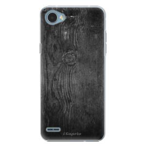 Plastové pouzdro iSaprio black Wood 13 na mobil LG Q6