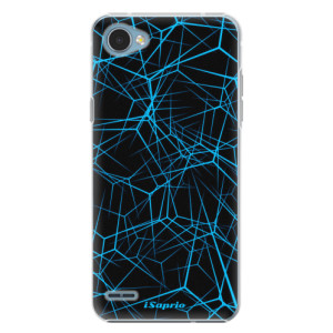 Plastové pouzdro iSaprio Abstract Outlines 12 na mobil LG Q6