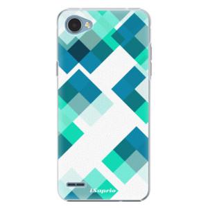 Plastové pouzdro iSaprio Abstract Squares 11 na mobil LG Q6