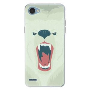 Plastové pouzdro iSaprio Angry Bear na mobil LG Q6