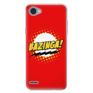 Plastové pouzdro iSaprio Bazinga 01 na mobil LG Q6