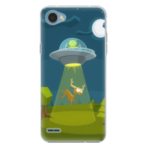 Plastové pouzdro iSaprio Alien 01 na mobil LG Q6