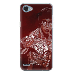 Plastové pouzdro iSaprio Bruce Lee na mobil LG Q6