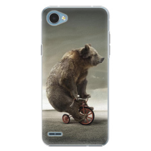 Plastové pouzdro iSaprio Bear 01 na mobil LG Q6