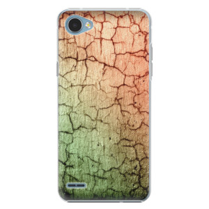 Plastové pouzdro iSaprio Rozpraskaná Zeď 01 na mobil LG Q6
