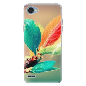 Plastové pouzdro iSaprio Autumn 02 na mobil LG Q6