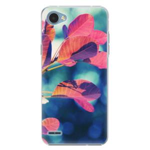 Plastové pouzdro iSaprio Autumn 01 na mobil LG Q6