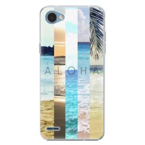 Plastové pouzdro iSaprio Aloha 02 na mobil LG Q6