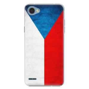 Plastové pouzdro iSaprio Česká Vlajka na mobil LG Q6