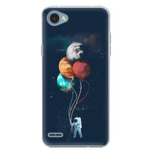 Plastové pouzdro iSaprio Balloons 02 na mobil LG Q6