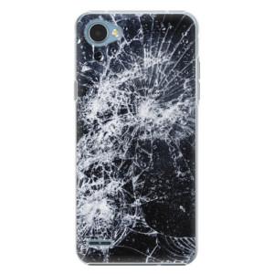 Plastové pouzdro iSaprio Praskliny na mobil LG Q6