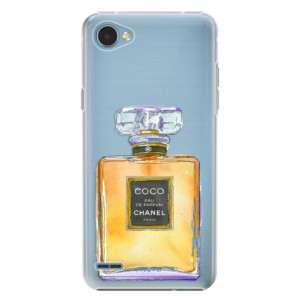 Plastové pouzdro iSaprio Chanel Gold na mobil LG Q6