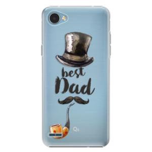 Plastové pouzdro iSaprio Best Dad na mobil LG Q6