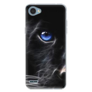 Plastové pouzdro iSaprio black Puma na mobil LG Q6
