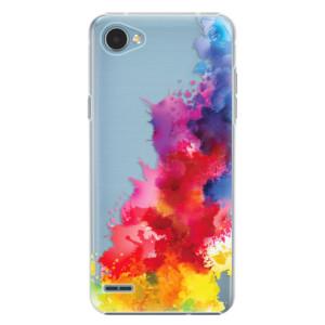 Plastové pouzdro iSaprio Color Splash 01 na mobil LG Q6