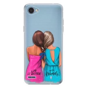 Plastové pouzdro iSaprio Best Friends na mobil LG Q6