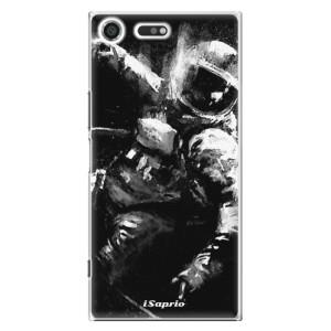 Plastové pouzdro iSaprio Astronaut 02 na mobil Sony Xperia XZ Premium
