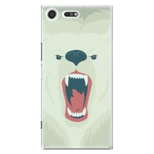 Plastové pouzdro iSaprio Angry Bear na mobil Sony Xperia XZ Premium