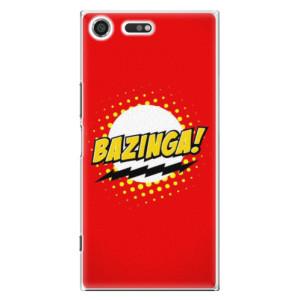 Plastové pouzdro iSaprio Bazinga 01 na mobil Sony Xperia XZ Premium