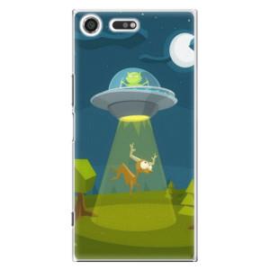 Plastové pouzdro iSaprio Alien 01 na mobil Sony Xperia XZ Premium