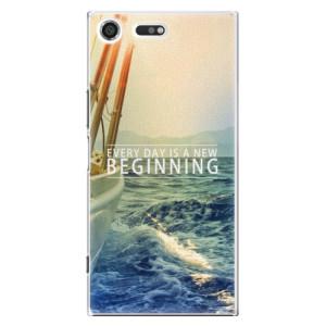 Plastové pouzdro iSaprio Beginning na mobil Sony Xperia XZ Premium