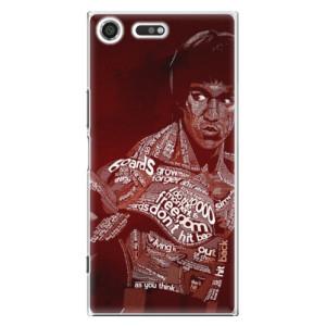 Plastové pouzdro iSaprio Bruce Lee na mobil Sony Xperia XZ Premium