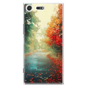 Plastové pouzdro iSaprio Autumn 03 na mobil Sony Xperia XZ Premium