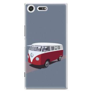 Plastové pouzdro iSaprio VW Bus na mobil Sony Xperia XZ Premium