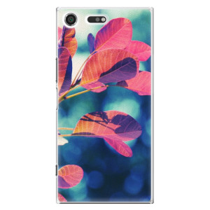 Plastové pouzdro iSaprio Autumn 01 na mobil Sony Xperia XZ Premium