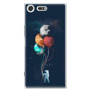 Plastové pouzdro iSaprio Balloons 02 na mobil Sony Xperia XZ Premium