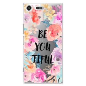 Plastové pouzdro iSaprio BeYouTiful na mobil Sony Xperia XZ Premium