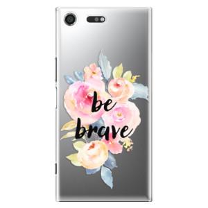 Plastové pouzdro iSaprio Be Brave na mobil Sony Xperia XZ Premium