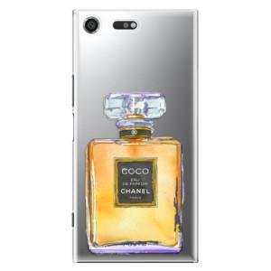 Plastové pouzdro iSaprio Chanel Gold na mobil Sony Xperia XZ Premium