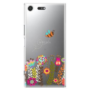 Plastové pouzdro iSaprio Bee 01 na mobil Sony Xperia XZ Premium