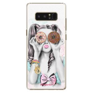 Plastové pouzdro iSaprio Donutky Očiska 10 na mobil Samsung Galaxy Note 8