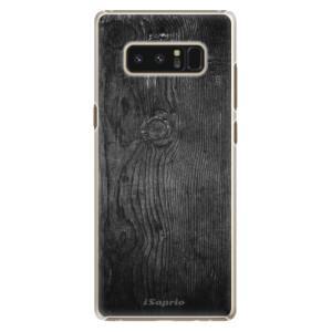 Plastové pouzdro iSaprio black Wood 13 na mobil Samsung Galaxy Note 8